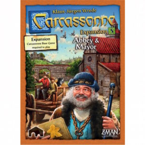 Buy Carcassonne: Abbey & Mayor (Expansion) the game expansion online in NZ
