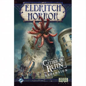 Buy Eldritch Horror: Cities in Ruin (Expansion) the game expansion online in NZ