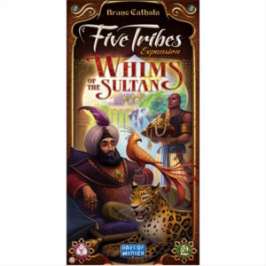 Buy Five Tribes: Whims of the Sultan (Expansion) the game expansion online in NZ