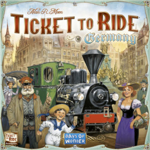 Buy Ticket to Ride: Germany the board game online in NZ