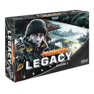 Buy Pandemic Legacy - Season 2 (Black Box) the board game online in NZ