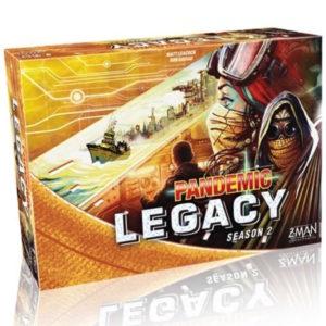Buy Pandemic Legacy - Season 2 (Yellow Box) the board game online in NZ
