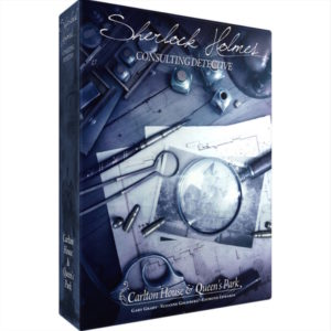 Buy Sherlock Holmes Consulting Detective: Carlton House & Queen's Park the game online in NZ