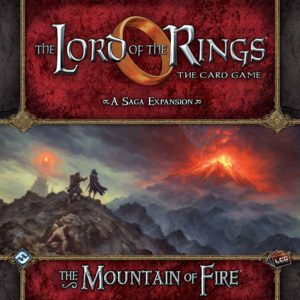 Buy The Lord of the Rings: The Card Game - The Mountain of Fire (Expansion) the game expansion online in NZ