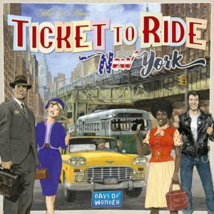 Buy Ticket to Ride: New York the board game online in NZ