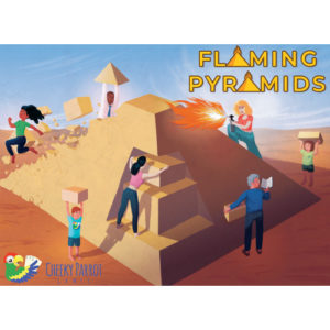 Buy Flaming Pyramids the board game online in NZ