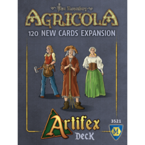 Buy Agricola: Artifex Deck (Expansion) the board game expansion online in NZ