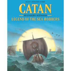 Buy Catan: Seafarers Scenario – Legend of the Sea Robbers the board game expansion online in NZ