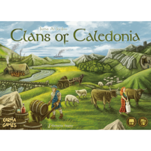 Buy Clans of Caledonia the board game online in NZ