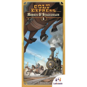 Buy Colt Express: Horses and Stagecoach the board game expansion online in NZ