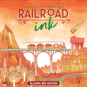 Buy Railroad Ink: Blazing Red Edition the board game online in NZ
