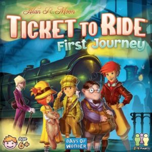 Buy Ticket to Ride First Journey (U.S.) the board game online in NZ