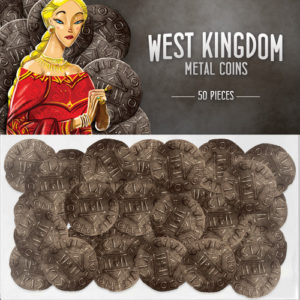 Buy West Kingdom Metal Coins (Accessory) the game accessory online in NZ