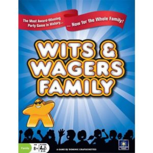Buy Wits and Wagers: Family Edition the card game online in NZ