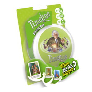 Buy Timeline: Inventions (Blister Pack) the card game online in NZ
