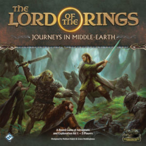 Buy The Lord of the Rings - Journeys in Middle Earth the board game online in NZ