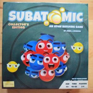 Buy Subatomic Collector's Edition the card game online in NZ