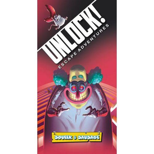 Buy Unlock!: Escape Adventures – Squeek & Sausage the card game online in NZ