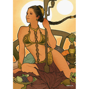 Buy Card Sleeves: Princess Leia the game accessory online in NZ