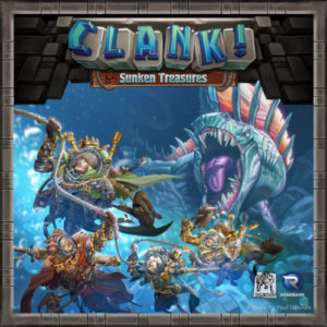 Buy Clank!: Sunken Treasures (Expansion) the game expansion online in NZ