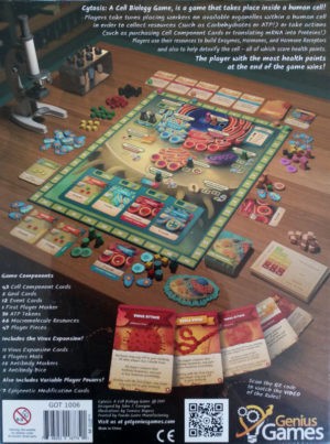 Buy CYTOSIS: A Cell Biology Game (Collectors Edition) the board game online in NZ
