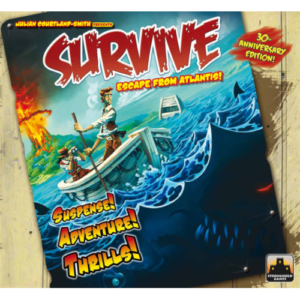 Buy Survive: Escape from Atlantis! (30th Anniversary Edition) the board game online in NZ