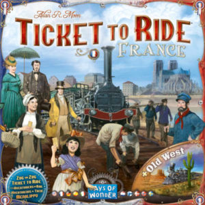 Buy Ticket to Ride Map Collection: Volume 6 – France & Old West the board game expansion online in NZ