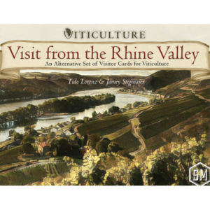 Buy Viticulture: Visit from the Rhine Valley (Expansion) the game expansion online in NZ