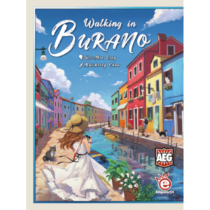 Buy Walking in Burano the board game online in NZ