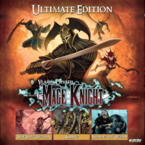Buy Mage Knight: Ultimate Edition the board game online in NZ