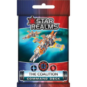 Buy Star Realms: Command Deck - The Coalition (Expansion) the card game expansion online in NZ