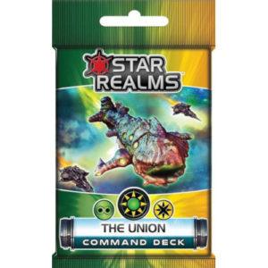 Buy Star Realms: Command Deck - The Union (Expansion) the card game expansion online in NZ