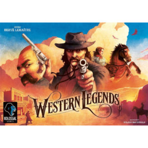 Buy Western Legends the board game online in NZ