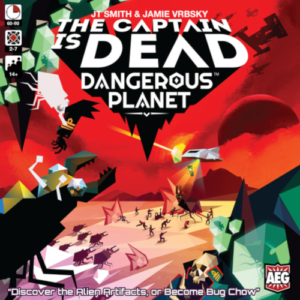 Buy The Captain Is Dead: Dangerous Planet (2nd Edition) the board game online in NZ