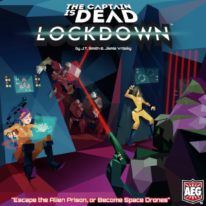 Buy The Captain Is Dead: Lockdown (2nd Edition) the board game online in NZ