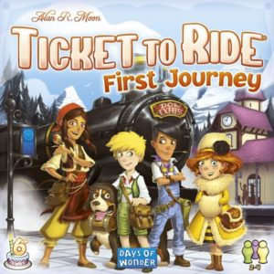 Buy Ticket to Ride First Journey (Europe) the board game online in NZ