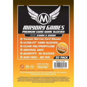 Buy Card Sleeves: Yucatan Narrow Premium (MDG-7136) the game accessory online in NZ