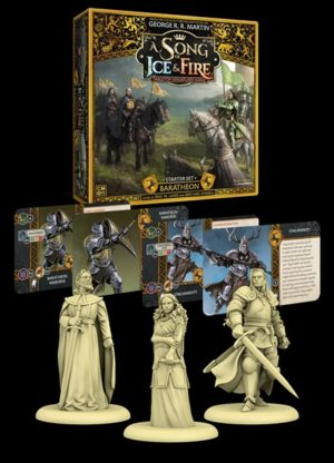 Buy A Song of Ice & Fire: Tabletop Miniatures Game – Baratheon Starter Set the board game online in NZ