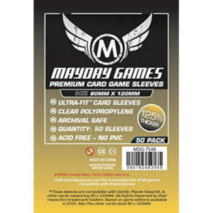 Card Sleeves: Mayday Magnum Gold Premium | Buy Board Game Accessory online in New Zealand