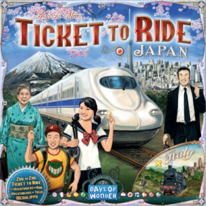 Buy Ticket to Ride Map Collection: Volume 7 – Japan & Italy the board game expansion online in NZ