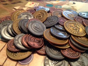 Buy Viticulture: Metal Coins (Accessory) the game accessory online in NZ