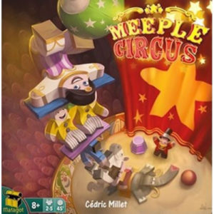 Buy Meeple Circus the board game online in NZ