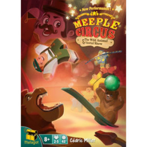 Buy Meeple Circus: The Wild Animal and Aerial Show (Expansion) the board game expansion online in NZ