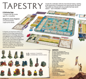 Buy Tapestry the board game online in NZ