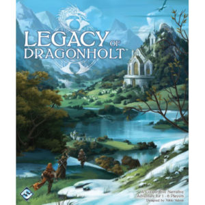 Buy Legacy of Dragonholt the board game online in NZ