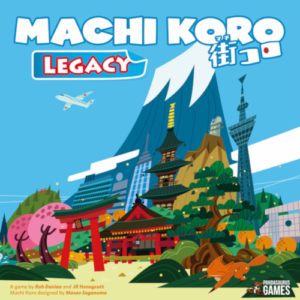 Buy Machi Koro Legacy the card game online in NZ