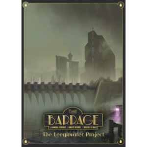 Buy Barrage: The Leeghwater Project (Expansion) the game expansion online in NZ