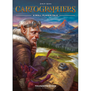 Buy Cartographers: A Roll Player Tale the card game online in NZ