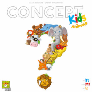 Buy Concept Kids: Animals the board game online in NZ
