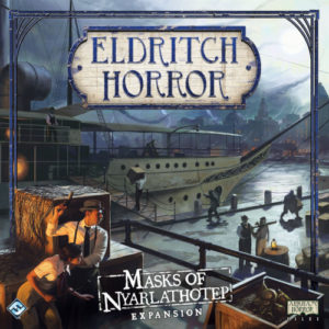 Buy Eldritch Horror: Masks of Nyarlathotep the game expansion online in NZ